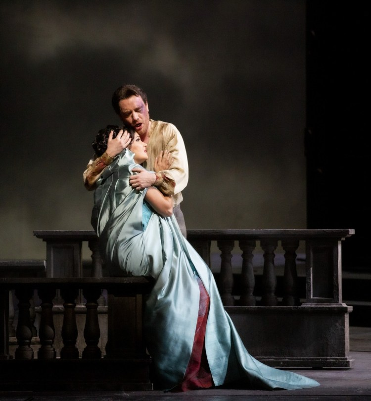 29 Tosca with Meli and Netrebko, photo by Brescia e Amisano, Teatro alla Scala 2019