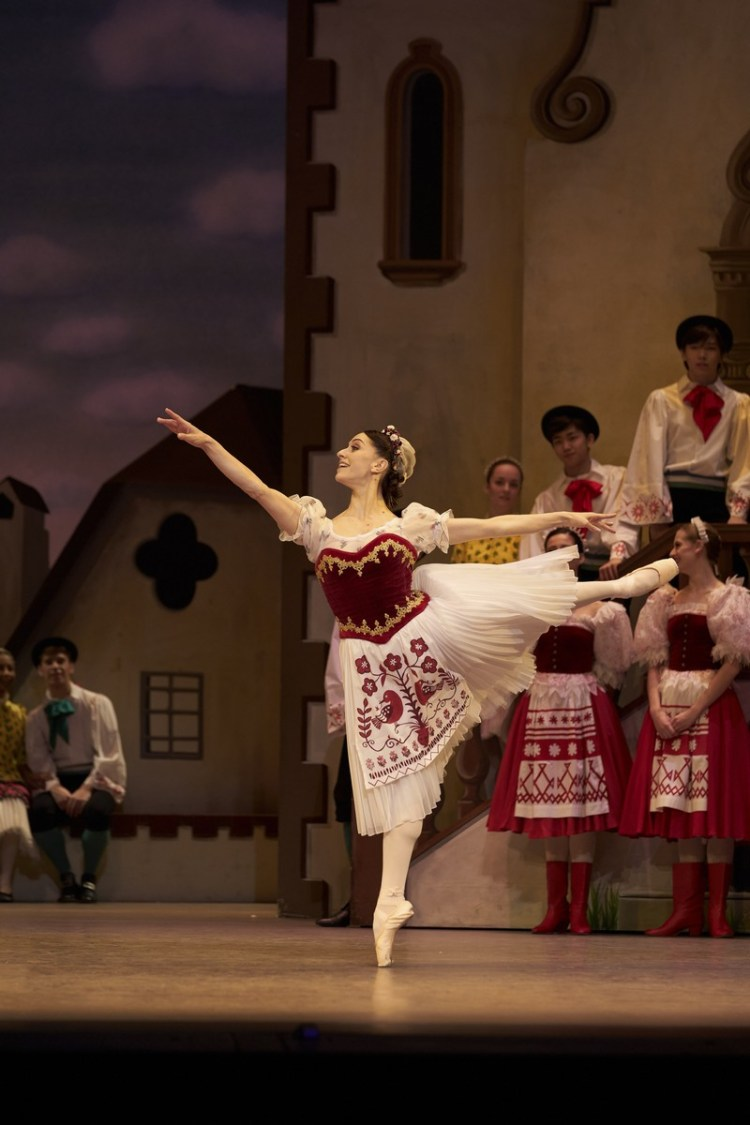 Coppélia with Marianela Nunez, photo by Bill Cooper ROH