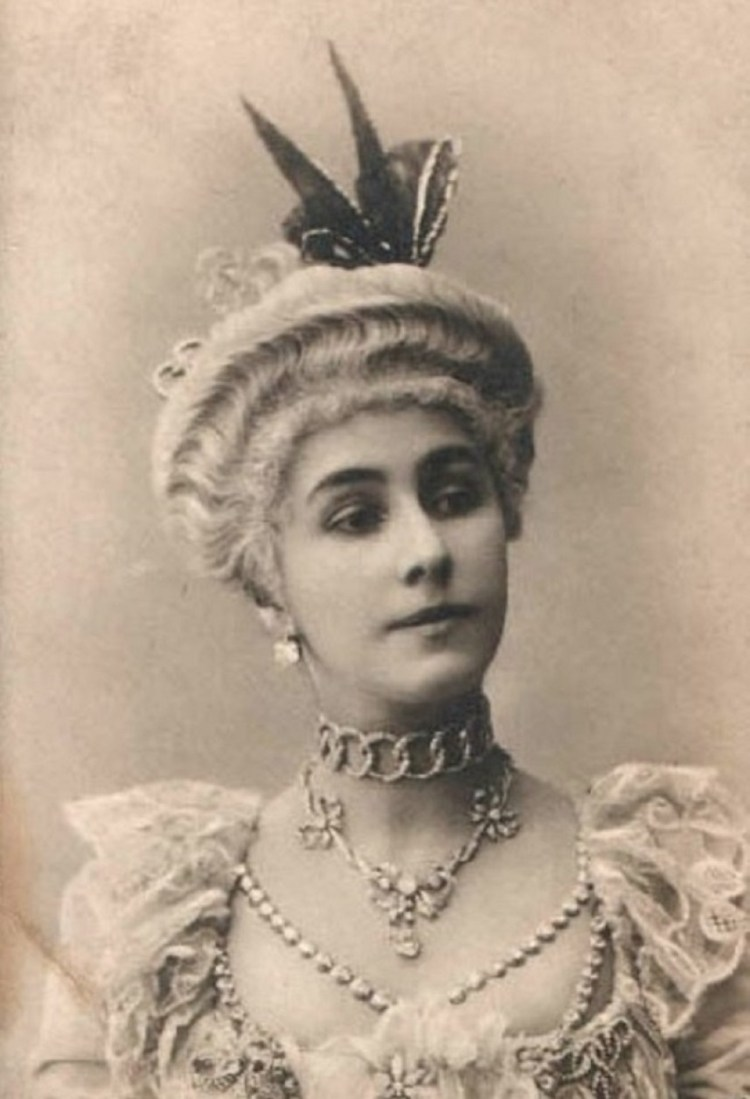 Mathilde Kschessinskaya in Petipa's 1872 ballet La Camargo