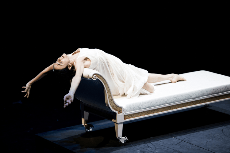 Alessandra Ferri an Eleonora Duse © Kiran West