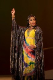 J'Nai Bridges as Delilah in Washington National Opera's Samson and Delilah, 2020