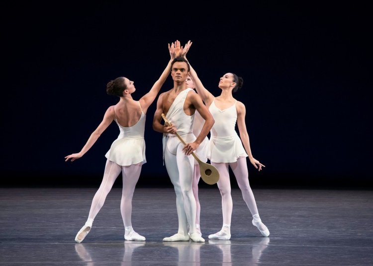 Apollo, Taylor Stanley and members of NYCB, photo by Erin Baiano