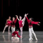 George Balanchine's Rubies with Mira Nadon and members of NYCB photo by Erin Baiano NYCB