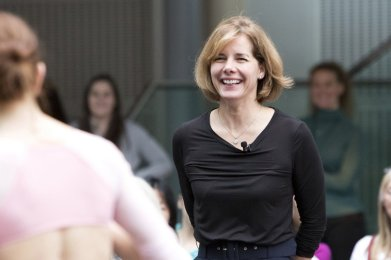 Darcey Bussell at Ballet Studio Live © 2018 ROH. Photograph by Rachel Cherry