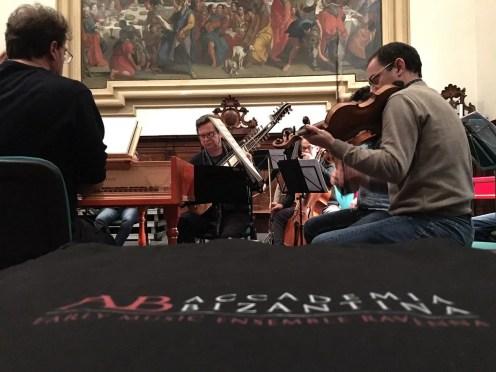 Ottavio Dantone and the Accademia Bizantina recording Il Giustino © Giulia Papetti