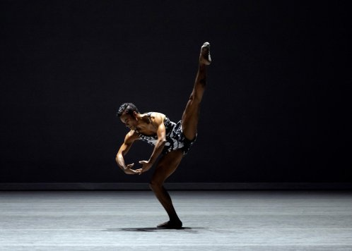Taylor Stanley in Kyle Abraham's The Runaway, photo by Erin Baiano