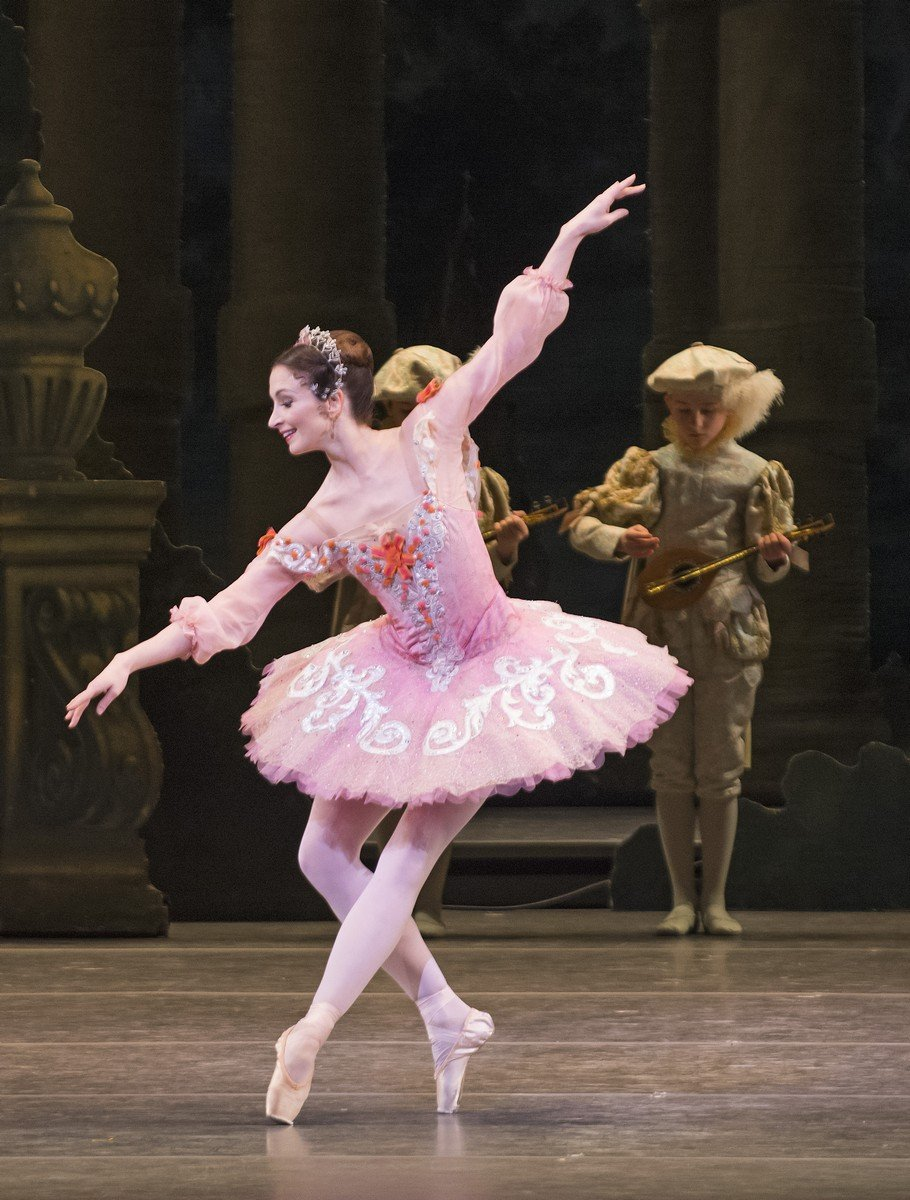 The Sleeping Beauty. Lauren Cuthbertson as Princess Aurora © ROH, Tristram Kenton, 2014