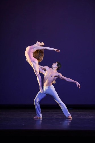 Marianela Nuñez and Thiago Soares in After the Rain © ROH 2016. Photo by Bill Cooper