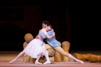Marianela Nuñez as Lise, Carlos Acosta as Colas and artists of The Royal Ballet in La Fille mal gardée, The Royal Ballet © ROH Tristram Kenton, 2012 (1)