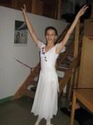 Nikisha during her time at the Royal Swedish Ballet School