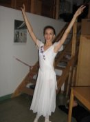 Nikisha during her time at the Royal Swedish Ballet School