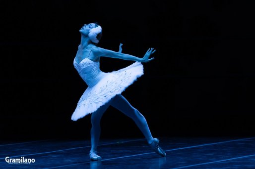 Iana Salenko as The Dying Swan © Graham Spicer