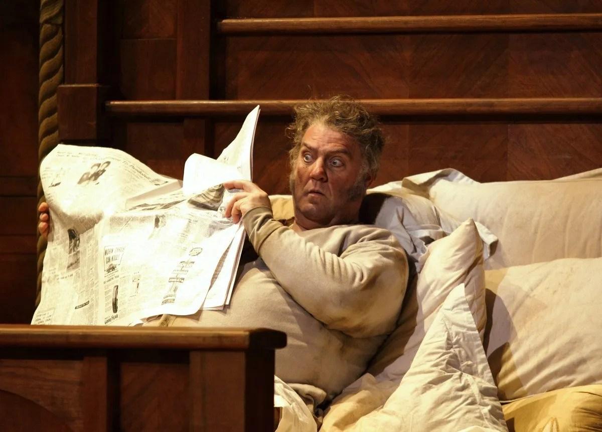 Falstaff. Bryn Terfel as Sir John Falstaff. © ROH, 2018. Photographed by Catherine Ashmore.