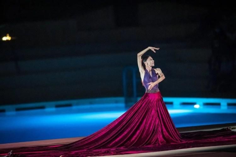 Le Sacre with Luciana Savignano and DanceHaus, Teatro Franco Parenti 2020, photo by Francesco Prandoni 1