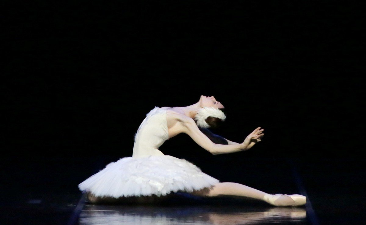 Svetlana Zakharova as The Dying Swan © Brescia e Amisano Teatro alla Scala