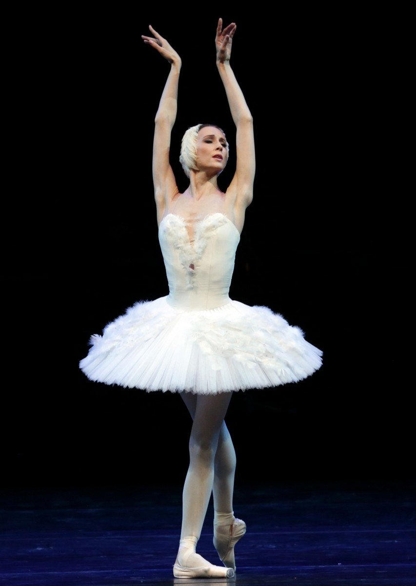 Ballet Gala - Svetlana Zakharova - The Dying Swan, photo by Brescia e Amisano Teatro alla Scala