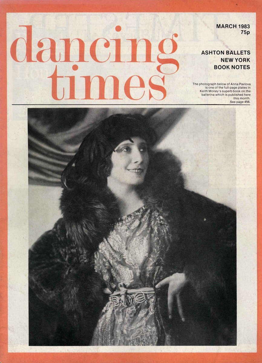 Dancing Times, March 1983