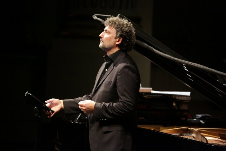 Jonas Kaufmann and Helmut Deutsch, photo by Brescia e Amisano © Teatro alla Scala 2020