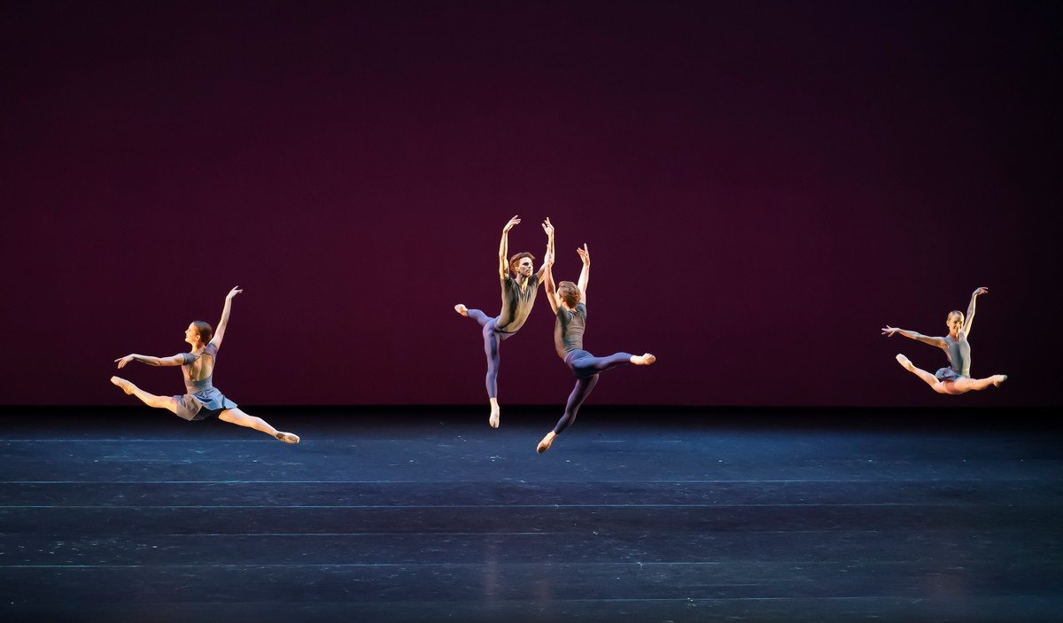 Scherzo, Royal Ballet LIve 2020, Madison Bailey, Leo Dixon, Liam Boswell, Sophie Alnatt, photo by Emma Kauldhar 2020
