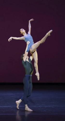 Scherzo, Royal Ballet Live 2020, Sae Maeda and Harris Bell, photo Emma Kauldhar ROH