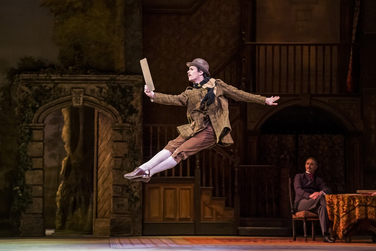 Calvin Richardson as William Meath Baker in Enigma Variations, The Royal Ballet © 2019 ROH. Photograph by Tristram Kenton