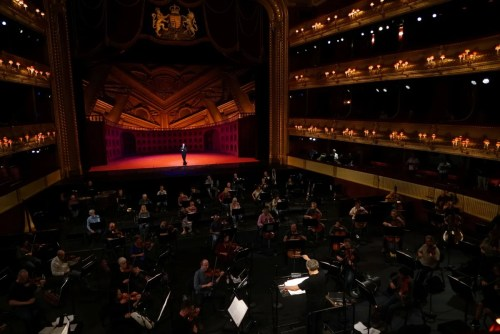 The Royal Opera Live in concert (rehearsal), Aigul Akhmetshina and Orchestra of the Royal Opera House, ROH 2020