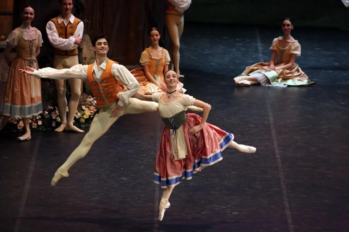 Giselle, Antonella Albano and Nicola Del Freo photo Brescia e Amisano © Teatro alla Scala
