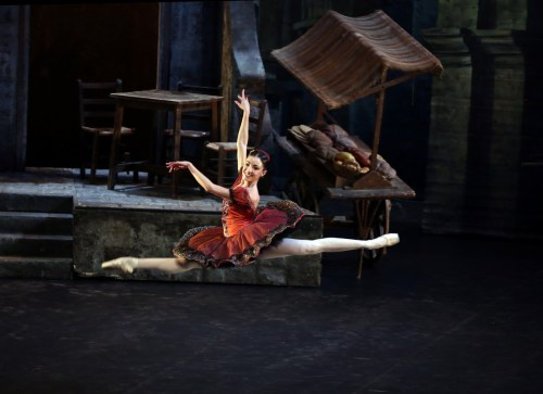 Don Quixote with Gaia Andreanò, photo by Brescia e Amisano ©Teatro alla Scala