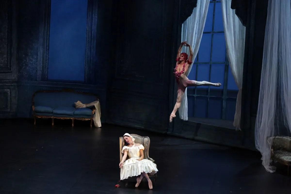 Le Spectre de la rose with Emanuela Montanari Claudio Coviello, photo by Brescia e Amisano © Teatro alla Scala