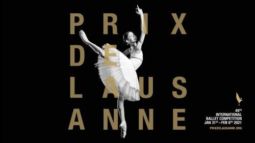 Prix de Lausanne 2021 Poster Girl