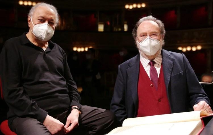 Riccardo Chailly and Zubin Mehta © Brescia Amisano, Teatro alla Scala - 01