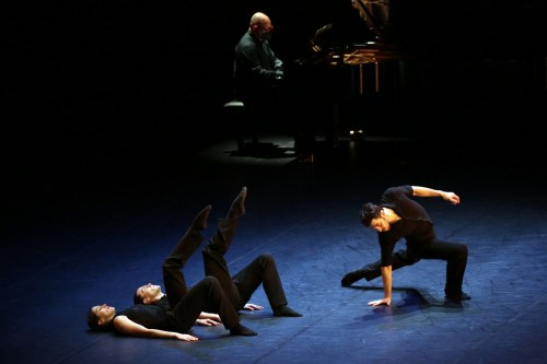Sentieri with Alessandra Vassallo, Andrea Risso and Christian Fagetti, photo by Brescia e Amisano ©Teatro alla Scala