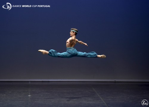 António Casalinho at the Dance World Cup Portugal