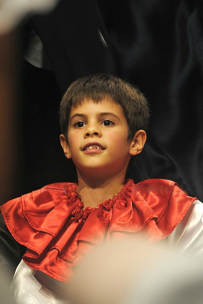 António Casalinho in 2013 at 10 years old, photo by Tomé Gonçalves