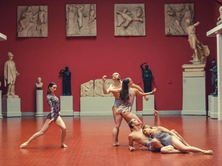 Dancers - Ancient Greece Art Hall - choreographer Konstantin Semenov