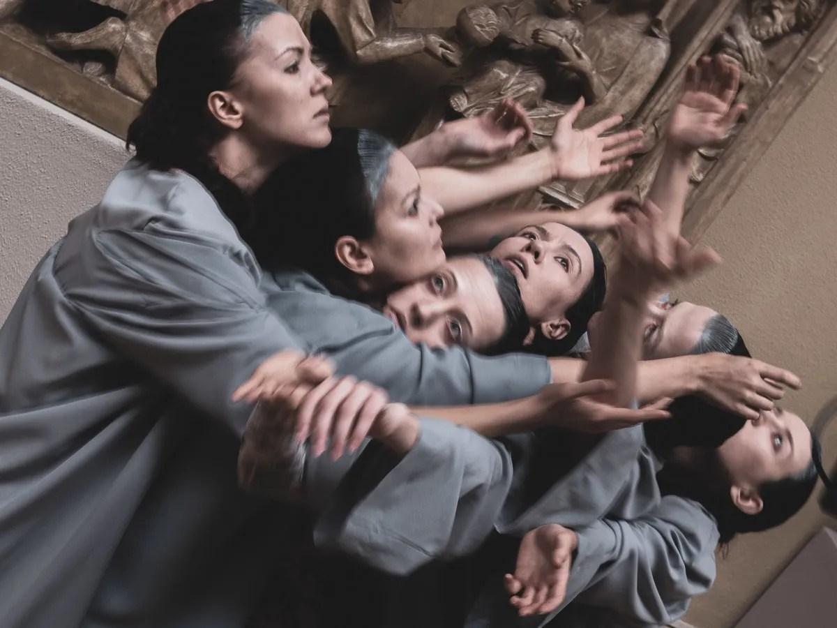 Dancers - Middle Ages Art - choreographer Lilia Burdinskaya 2