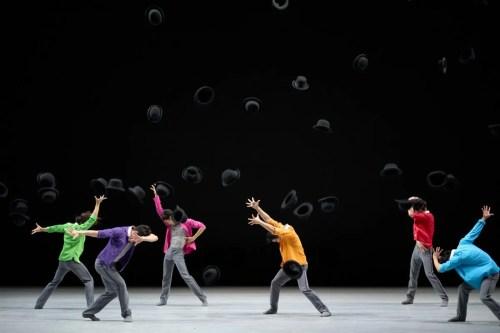Dancers (from left) Li Lin, Shen Jie, Li Jiabo, Leung Chunlong, Lin Chang-yuan Kyle, Luis Cabrera, photography by Conrad Dy-Liacco
