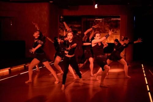 Hong Kong Ballet dancers