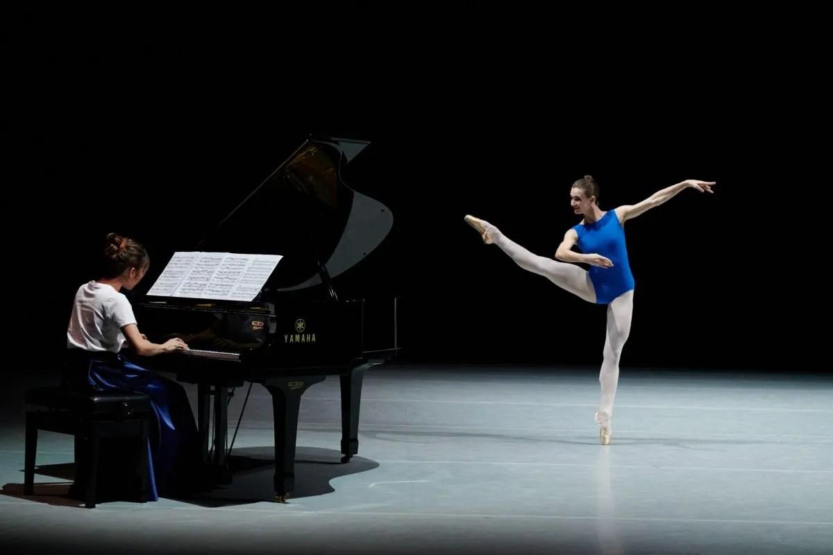 Piano Rachel Cheung; Dancer Amber Lewis