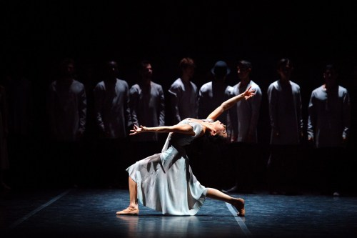 Tamara Rojo in Akram Khan's Giselle © Laurent Liotardo