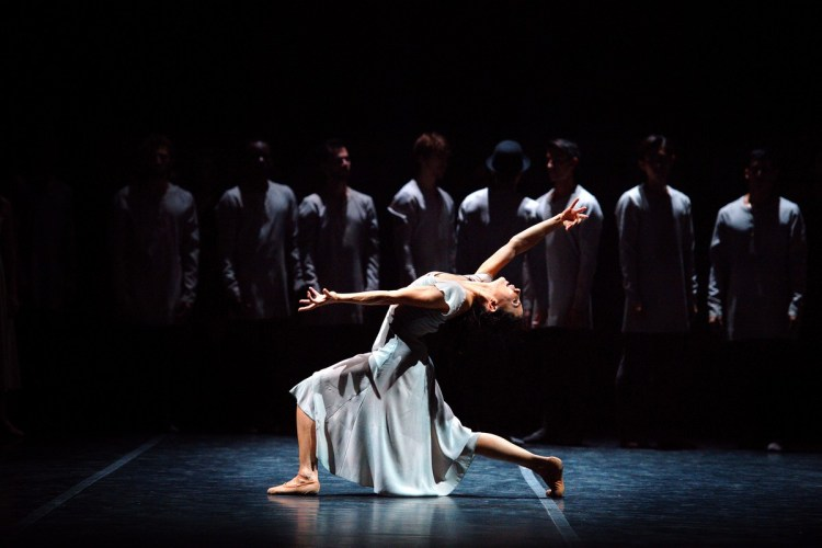 Tamara Rojo in Akram Khan's Giselle © Laurent Liotardo