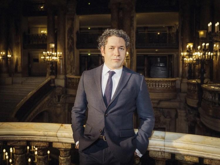 Gustavo Dudamel © Julien Mignot, Paris Opera 2021