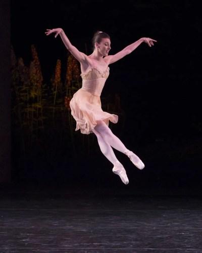 Tiler Peck in Balanchine's Tchaikovsky Pas de Deux, photo by Erin Baiano 2017