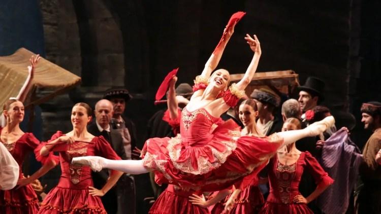 Virna Toppi as Kitri, photo by Brescia e Amisano ©Teatro alla Scala