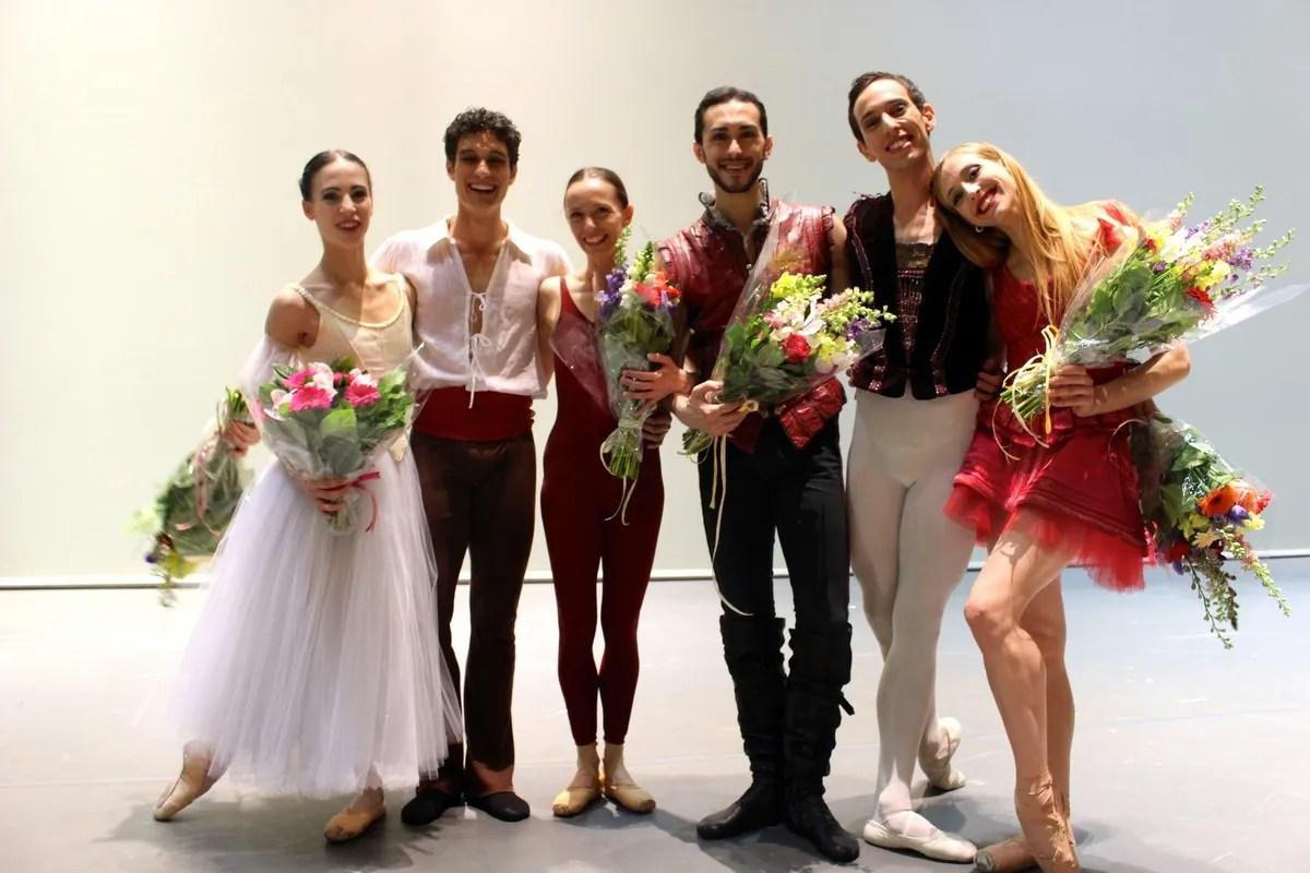 Virna Toppi at the Bolshoi for the Benois de la Danse
