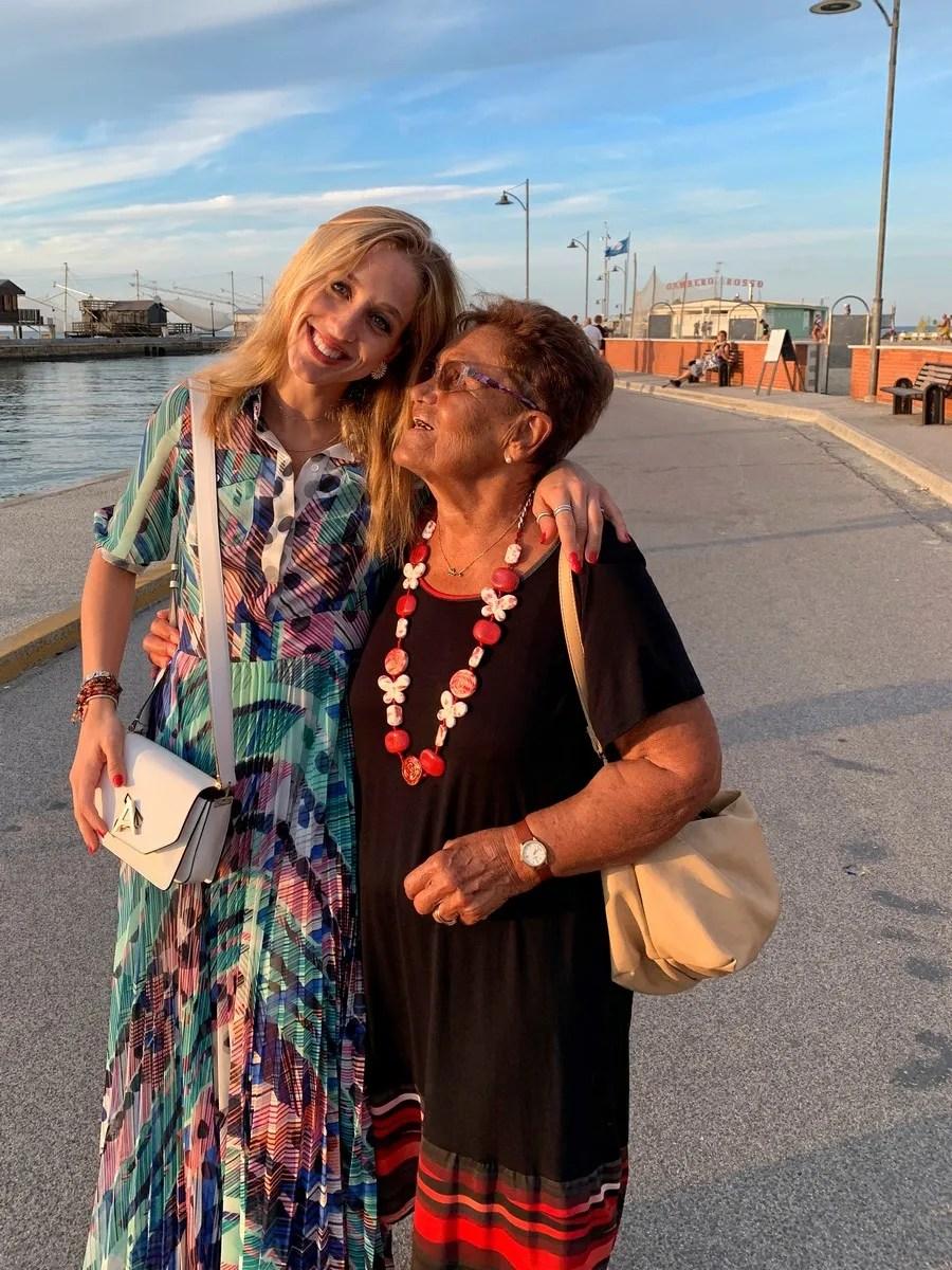 Virna with Nonna Libera