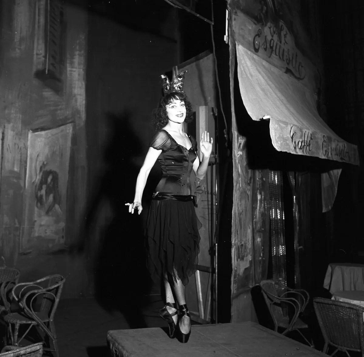 1956 Luciana Novaro in Mario e il mago, photo by Erio Piccagliani © Teatro alla Scala