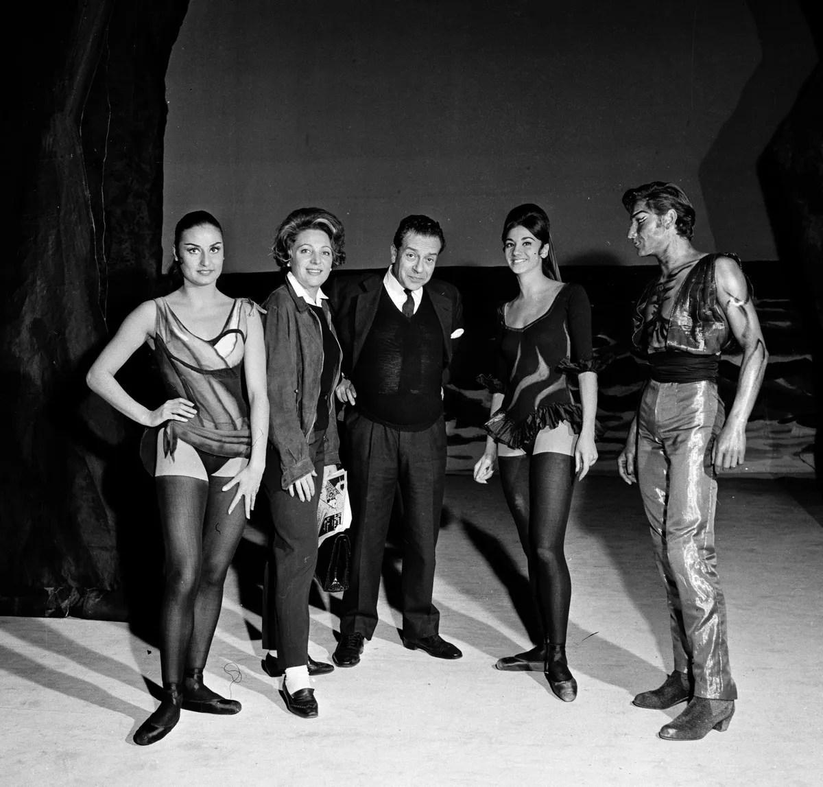 1962 Morini, Novaro, Guttuso, Nativo, Gades - El amor brujo, photo by Erio Piccagliani © Teatro alla Scala