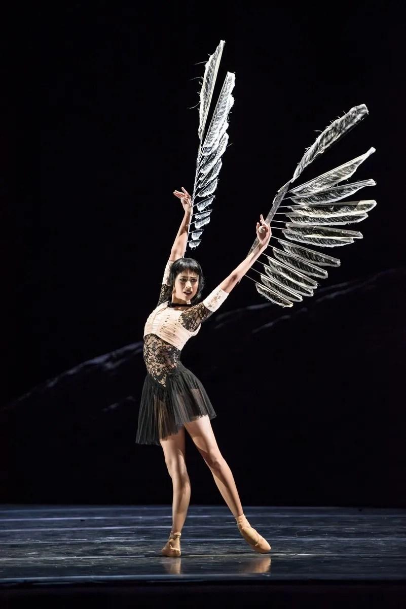 Beatriz Stix-Brunell in Raven Girl photo by Bill Cooper ROH