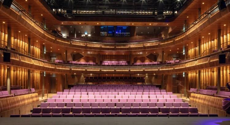 Linbury Theatre © Royal Opera House, Luke Hayes